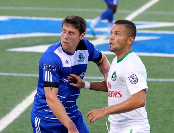Danny Szetela and the Cosmos just can't find the goals. Photo credit - Eytan Calderon
