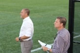 Coach Giovanni Savarese and staff continue to search for goals. Photo credit - Eytan Calderon