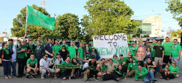 Picture from one of the many Cosmos supporters tailgates! Photo credit - Eytan Calderon
