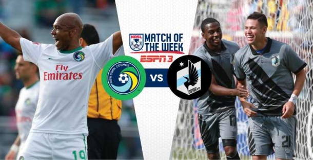 Cosmos vs Minnesota - Match of the Week! Photo credit - NASL.com