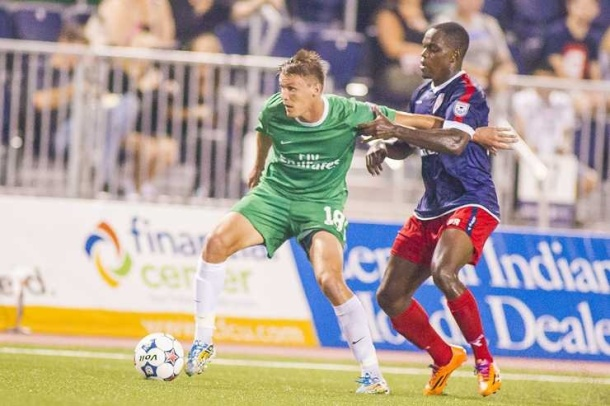 Mads Stokkelien added his fifth goal of the season for the Cosmos but it only resulted in a draw for the Cosmos. Photo credit - NY cosmos