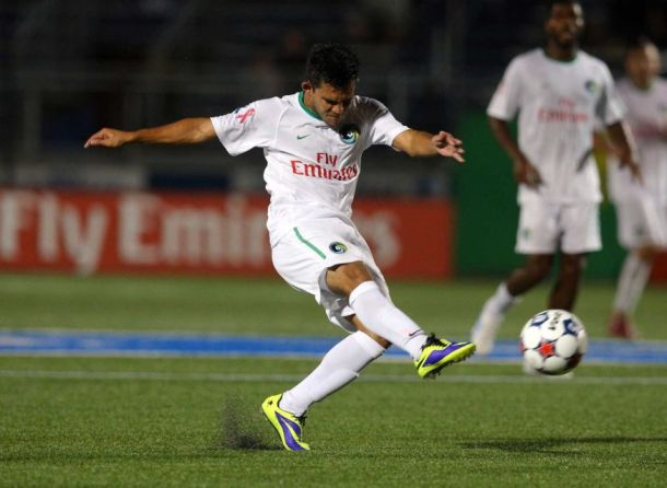 Andres Flores Returns To The Cosmos After Missing Some Time While Playing With His Country El Salvador In The Copa Centroamericana