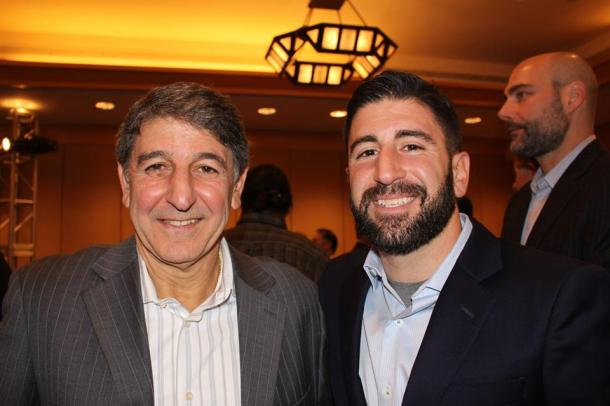 Two Generations Of Eskandarians Were On Hand Today At The Four Seasons. Photo Credit - Eytan Calderon
