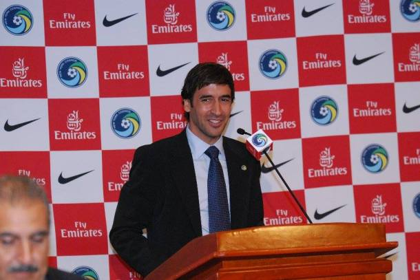 Raul Was All Smiles While Speaking With The Media. Photo Credit - Cross Island Crew Contributor