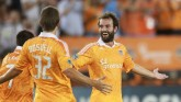 Moffat After A Goal With Houston - Photo Credit Houston Dynamo